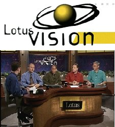 Lotus Vision logo and picture